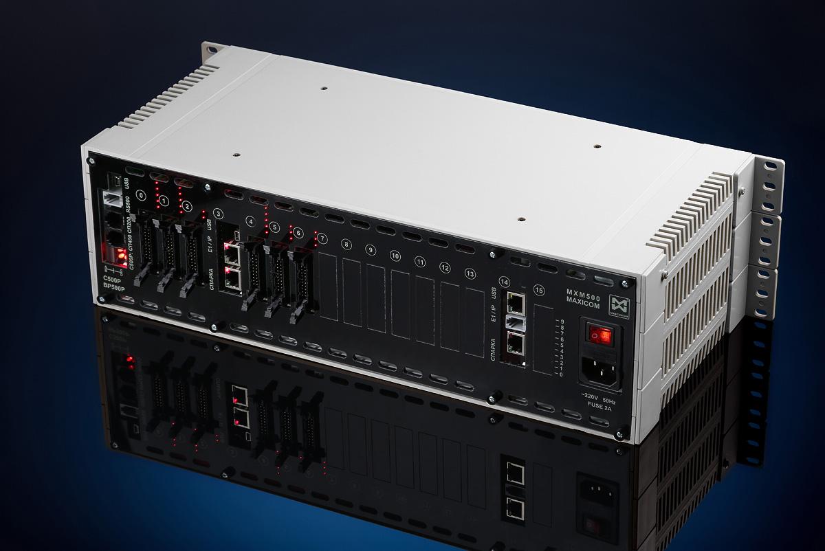 Цифровые АТС: IP АТС Максиком МХМ500