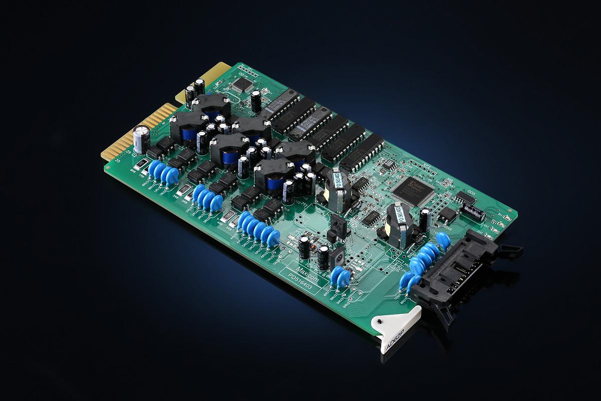 Плата расширения AD62P для цифровой мини АТС MXM500P, 6 портов, 2 порта ЦСТА