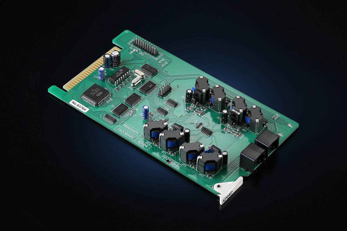 Мини АТС для офиса: плата расширения AP04P для MP48/80