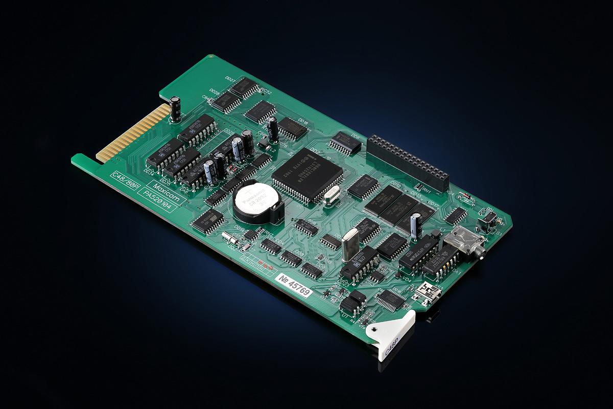 Офисные АТС плата процессора C48/80P для MP48/80