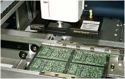производство АТС - фотография фрагмента производственного процесса.