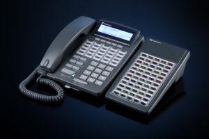 Системный телефон с консолью расширения