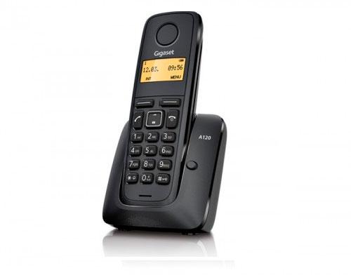 Фото: Телефон DECT с возможностью подключения к базе 4-х трубок.