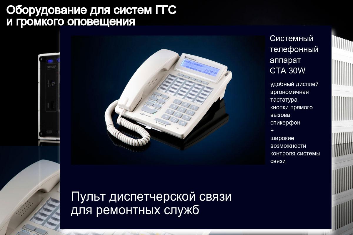 Пульт диспетчерской связи для ремонтных служб изображение