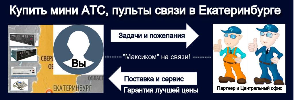 Схема взаимодействия Заказчика с Центральным офисом и партнером в Екатеринбурге
