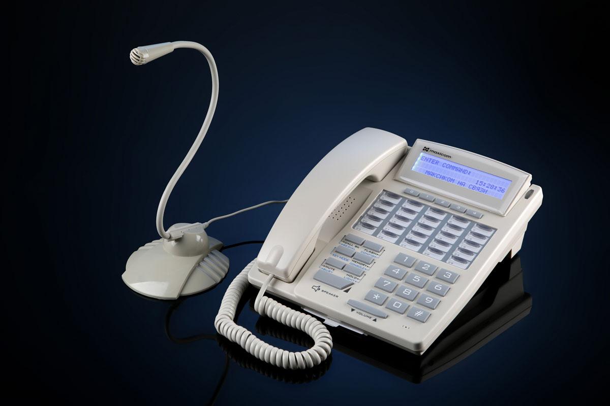 Фото модификации системного телефона STA3-Wm с выносным микрофоном