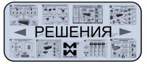 уменьшенные схемы решений на базе мини АТС МАКСИКОМ