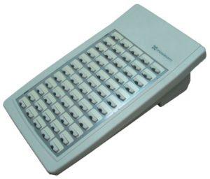 Цифровая консоль расширения на 60 программируемых кнопок, светло-серое исполнение