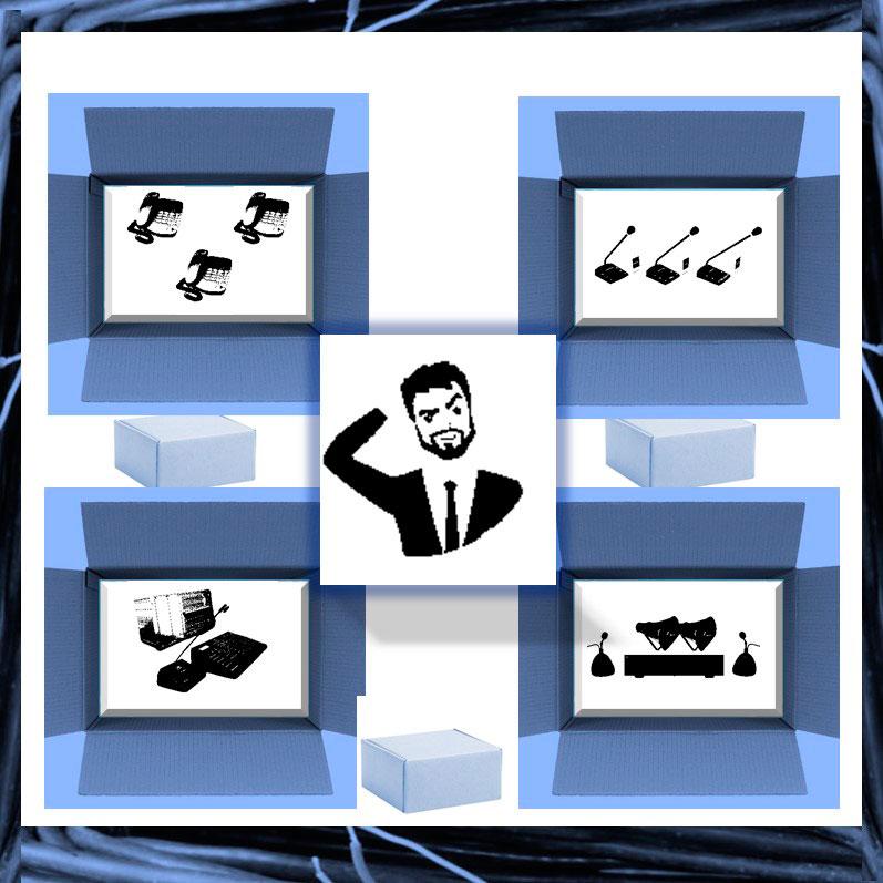 Корпоративная телефония на основе параллельных и автономных систем связи.