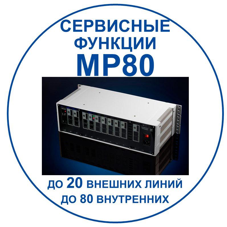 связь для бизнеса: сервисные возможности MP80/ Переход к документу с описанием.