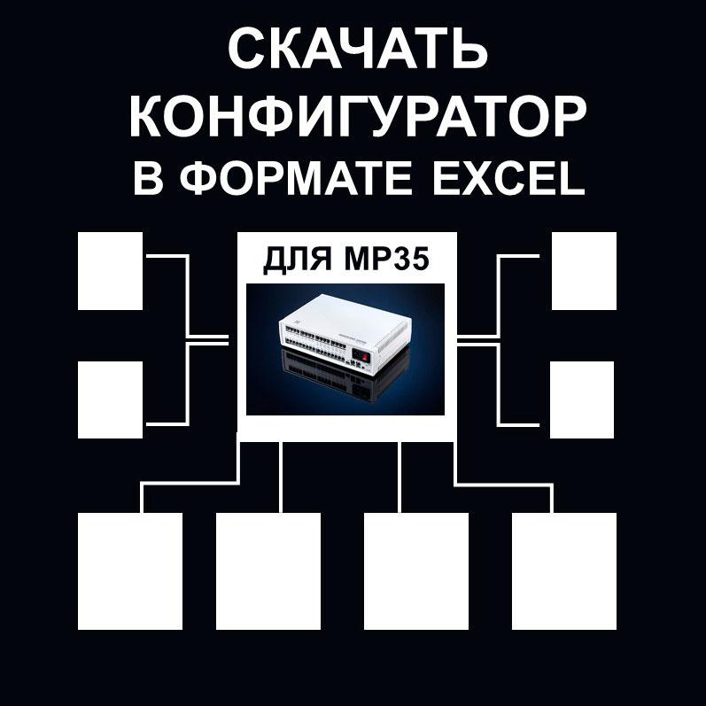 Отечественное телекоммуникационное оборудование. Конфигурации MP35. Переход к конфигуратору