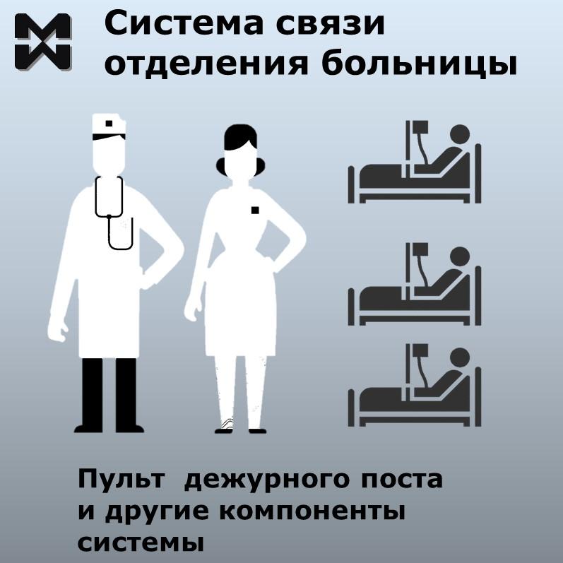 Система связи отделения больницы