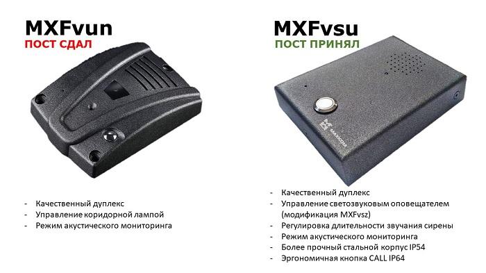 Абонентские переговорные устройства MXFvun и MXFvsu. Сравнение.