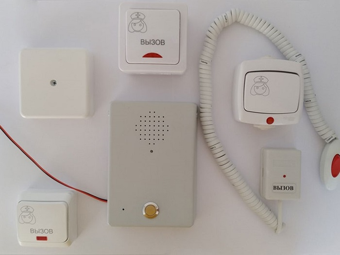 Переговорное устройство громкой связи и кнопки вызова