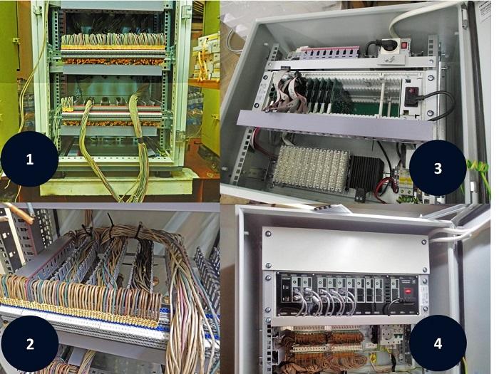 Монтаж мини АТС. Фото с разных объектов.