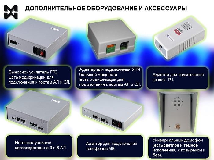 Фото адаптеров и аксессуаров к АТС МАКСИКОМ