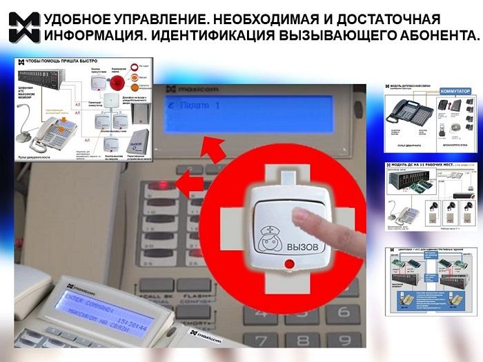Управление связью с системного телефона АТС
