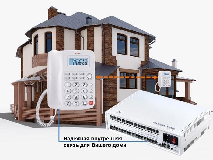 Мини АТС для загородного дома - MP35