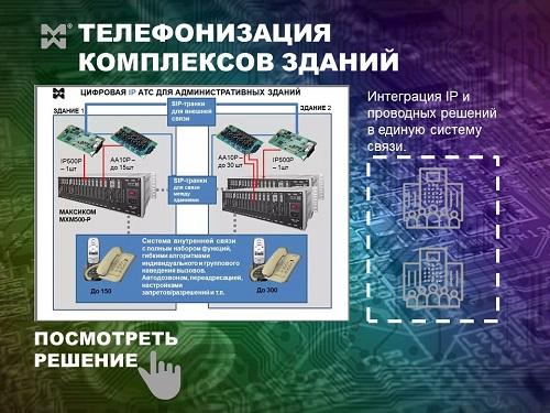 Комплексные системы связи для зданий. Пример схемы.
