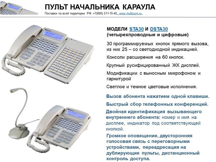 Фото пульта оперативной связи для СОДС и СОПС