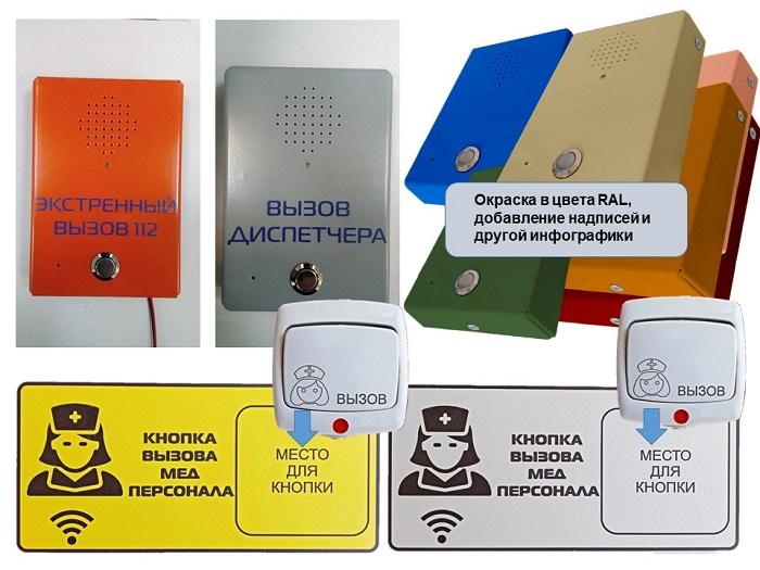 Аксессуары системы палатно-вызывной сигнализации и связи - фото.