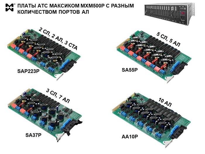 Платы мини АТС с портами АЛ - фото