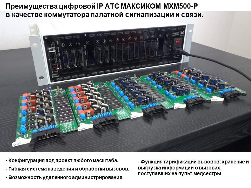 Коммутационная платформа для палатной сигнализации и связи
