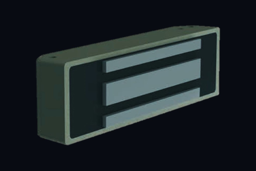 Электромагнитный замок - внешний вид