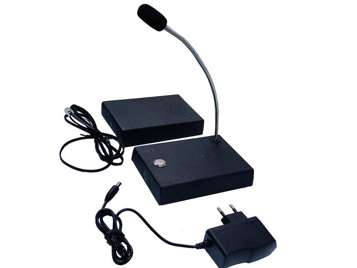 Переговорное устройство Клиент - Кассир - фото комплекта Маскифон